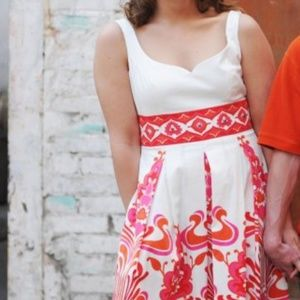 Colorful summer/fall dress